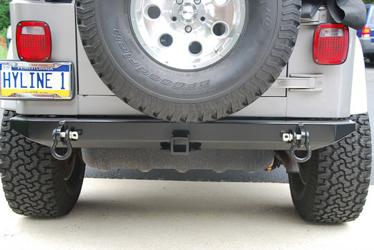 Jeep Tj Yj Standard Rear Bumper Hyline Offroad