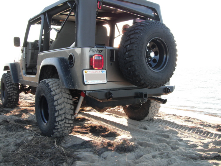 Jeep TJ/YJ Standard Rear Bumper. View The Full Image; View The Full Image