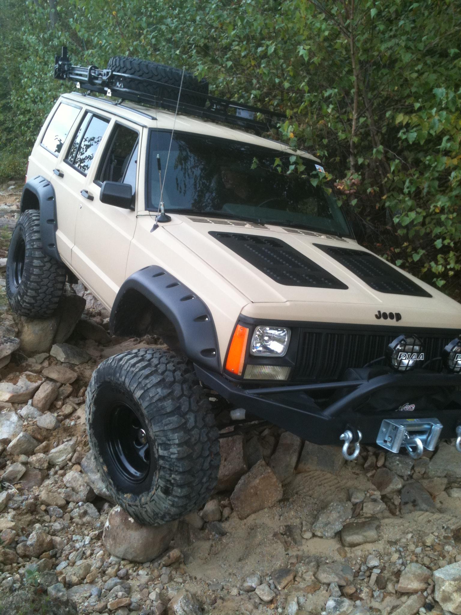 Jeep Cherokee Hood Louvers Xj Hood Louvers Hyline Offroad