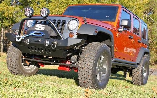 Jeep JK Front Bumper | Jeep Wrangler Unlimited Front Bumper
