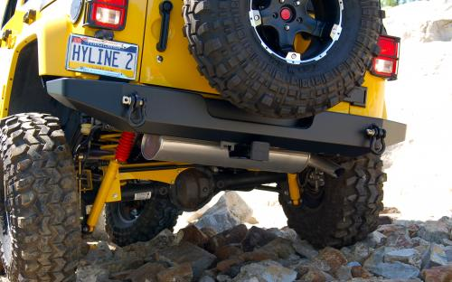Jeep JK Rear Bumper | JK Rear Bumper Standard