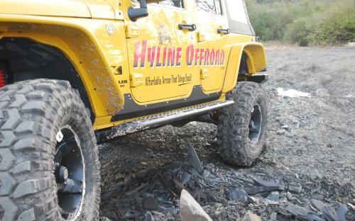Jeep JK Rock Sliders
