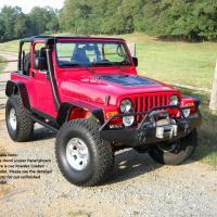 Jeep TJ Hood Louvers | TJ Hood Louver 03-06
