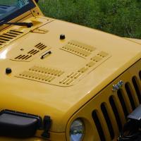 Jeep JK Hood Louver