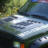 Jeep Cherokee Hood Louvers | XJ Hood Louvers